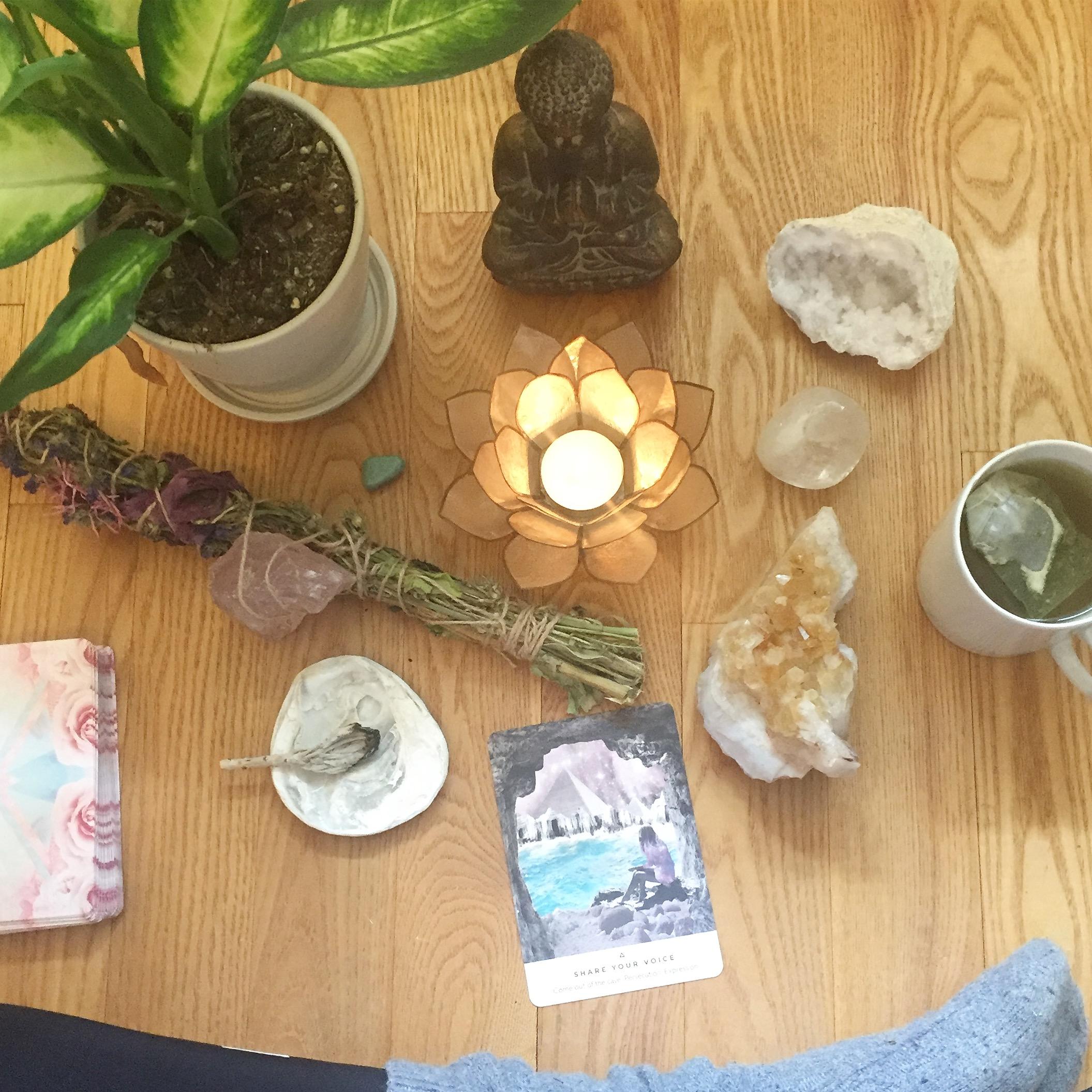 GUIDE: Sådan mediterer du med dine krystaller