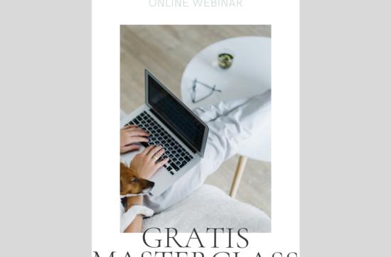 Gratis Masterclass: Et masterclass webinar for dig der ikke vil nøjes i dit liv
